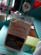 Glow in the Dark Embroidery Floss by Sublime Stitching