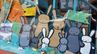Window Display from Bunny Party! 2015